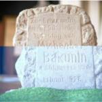 Bakunin Gedenkstein